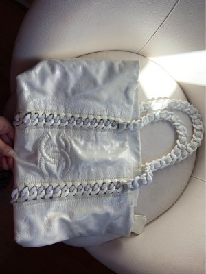 Chanel Shopper blanc