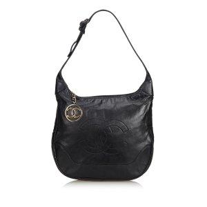 Chanel Borsa sacco nero Pelle