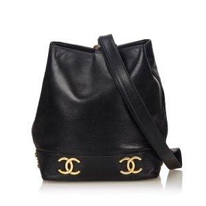 Chanel Lambskin Leather Bucket Bag