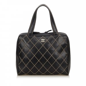 Chanel Lambskin Leather Surpique Handbag