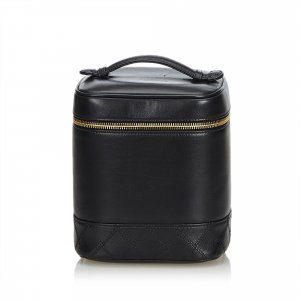Chanel Lambskin Leather Vanity Case