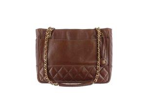 Chanel Lambskin Matelasse Chain Tote Bag