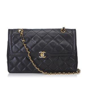 Chanel Lambskin Matelasse Flap Shoulder Bag