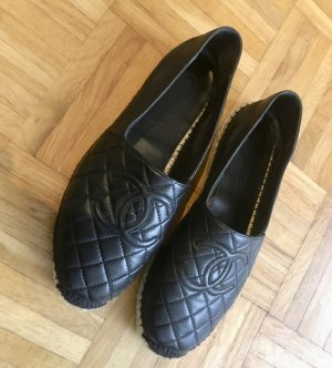 Chanel Slippers black leather