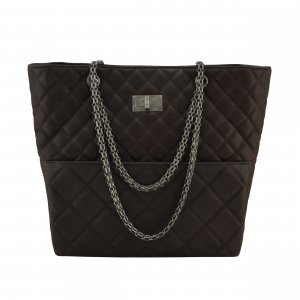 Chanel Large Quilted Iridescent Reissue Tote Bag