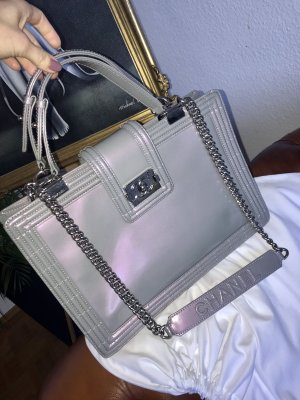 Chanel Handbag purple-grey lilac