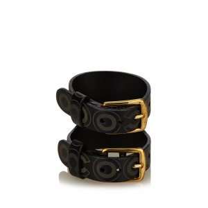 Chanel Leather Cuff