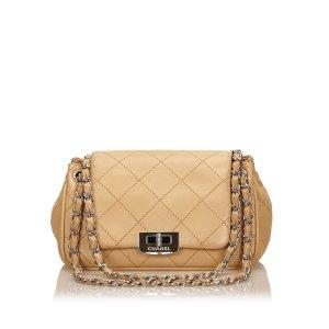 Chanel Leather Reissue Choco Bar Flap Bag