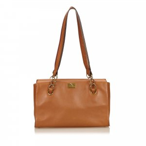 Chanel Tote brown leather