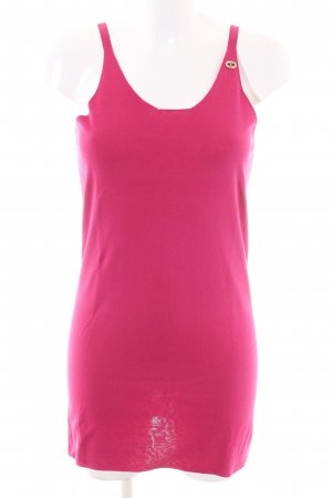 Chanel Long Top pink casual look