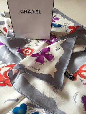 Chanel Luxus Seidentuch. 100% Seide. Neu