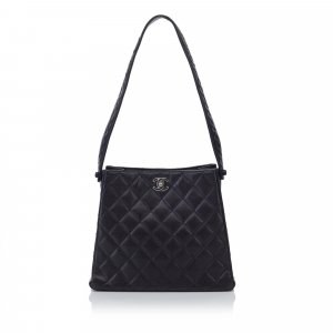 Chanel Matelasse Caviar Leather Bag