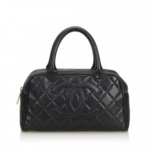 Chanel Handtas zwart Leer