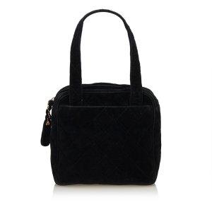 Chanel Matelasse Cotton Handbag