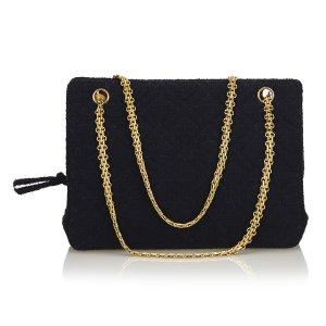 Chanel Matelasse Cotton Shoulder Bag