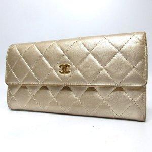 Chanel Portafogli oro