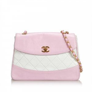 Chanel Matelasse Lambskin Chain Crossbody Bag