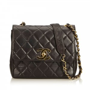 Chanel Matelasse Lambskin Chain Crossbody Flap Bag