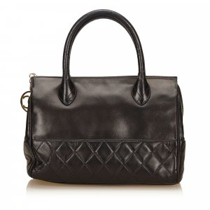 Chanel Matelasse Lambskin Leather Handbag