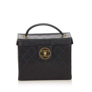 Chanel Matelasse Lambskin Vanity Bag