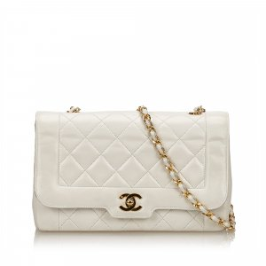 Chanel Matelasse Leather Chain Flap Bag