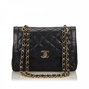 Chanel Matelasse Leather Flap Bag