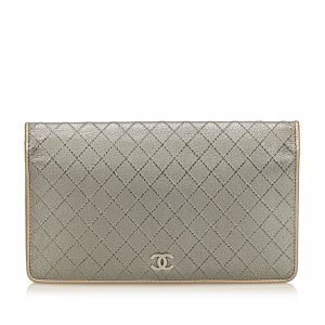 Chanel Matelasse Leather Wallet