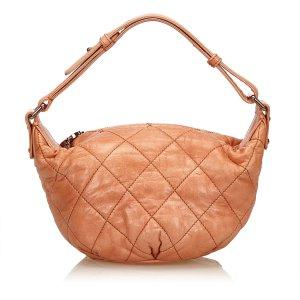 Chanel Handbag orange leather