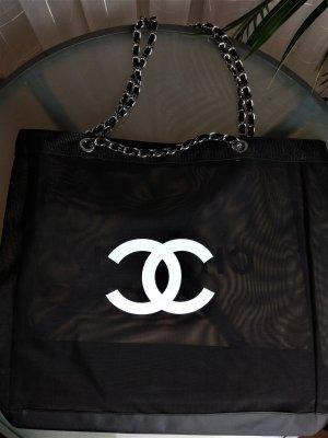 Chanel Shopper zwart-wit