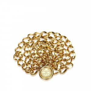 Chanel Belt gold-colored metal
