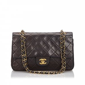 Chanel Medium Lambskin Double Flap Bag