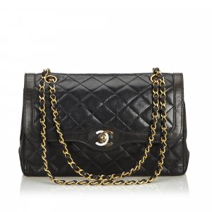 d77dcad09a437 Chanel Medium Lambskin Double Flap Bag