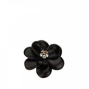 Chanel Metal Flower Brooch