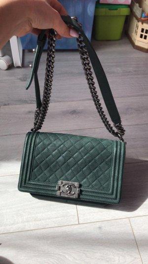 Chanel Bolso verde oscuro