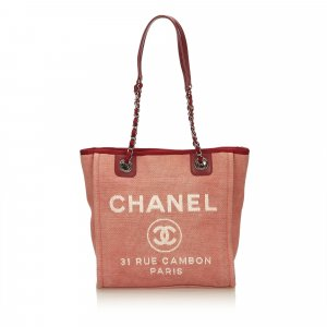 Chanel Borsa larga rosso