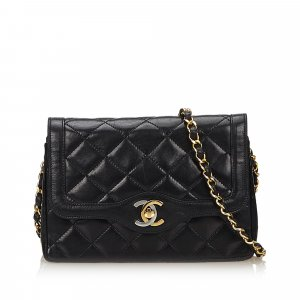 Chanel Mini Matelasse lambskin Leather Flap Bag
