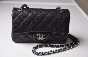 Chanel Mini Rectangular Bag Kavierleder NEU Full Set