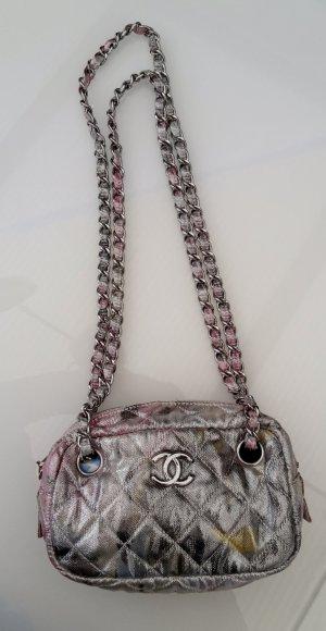 Chanel Crossbody bag light grey-light pink lurex