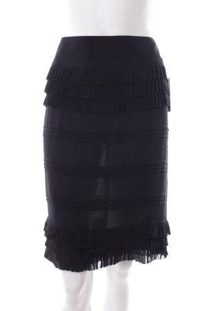 Chanel Minirock schwarz klassischer Stil