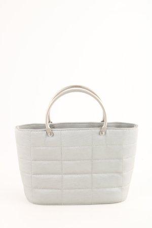 Chanel Minitasche weiß Steppmuster Business-Look