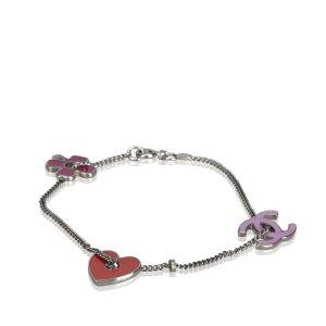 Chanel Bracelet argenté métal