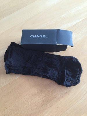 Chanel neu Seidensöckchen schwarz