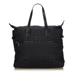 Chanel New Travel Jacquard Tote Bag