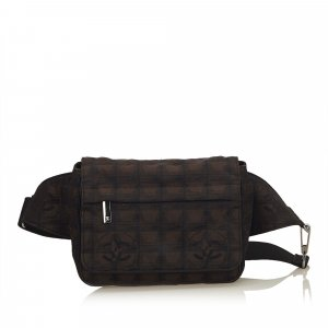 Chanel Marsupio marrone scuro