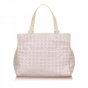 Chanel Weekendtas neongeel