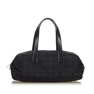Chanel Borsa a tracolla nero Nylon