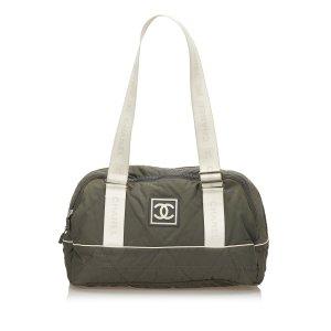 Chanel Nylon Sport Line Shoulder Bag