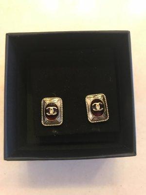 Chanel Orecchino bordeaux-bronzo
