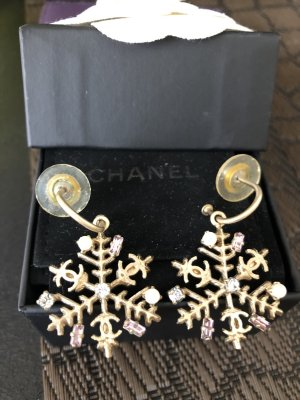 Chanel Dangle bronze-colored stainless steel