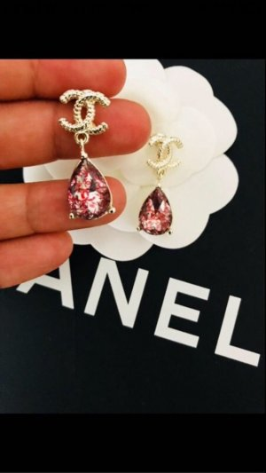 Chanel Earring gold-colored